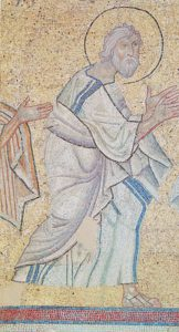 Ап. Андрей. Мозаика ц. св. Феодора в Сере (Греция). Нач. XII в.