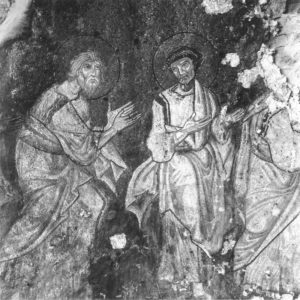 Апп. Андрей и Лука. Конец XI — начало XII вв. Церковь св. Георгия (Ротонда), Салоники, Греция