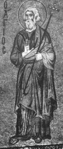 Ап. Андрей. Мозаика в апсиде. Собор в Чефалу. Сицилия. 1148.