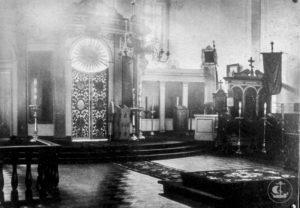 Исторический облик храма Двунадесяти апостолов.