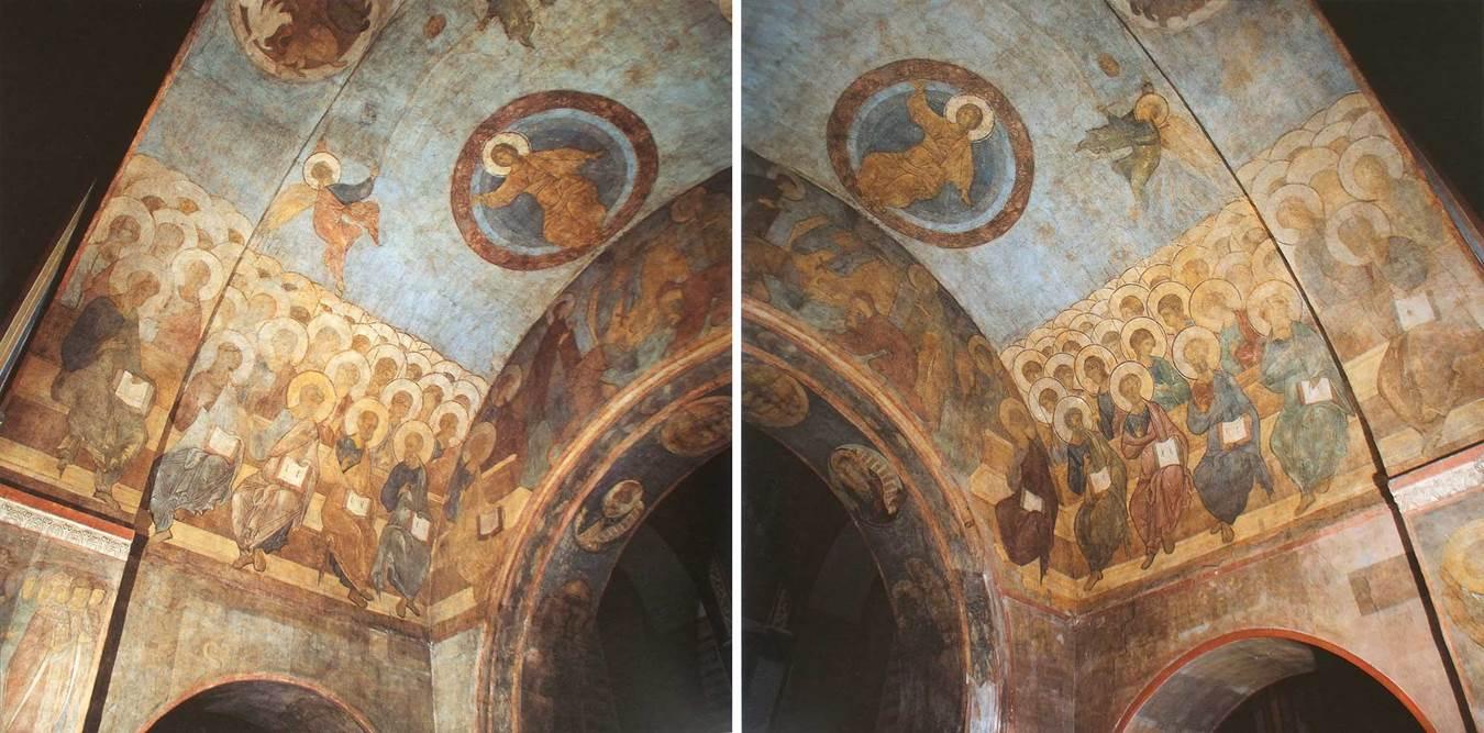 Кто участвовал в росписи успенского собора во владимире